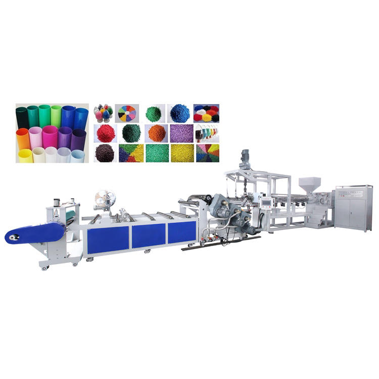 SINOPLAST New Model PP Ps Bio Plastic Product Sheet Extrusion Extruder Making Machine