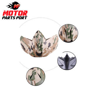 High quality adjustable motorcycle goggles mask detachable