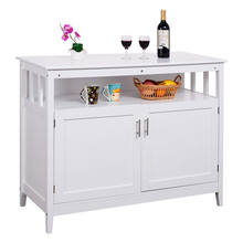 White Sideboard And Buffet