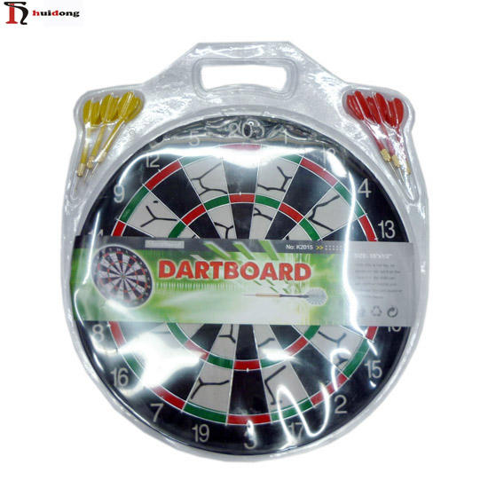 Wholesale good quality sports equipment mini dartboard with 6 darts size 12 15 17 dartboard for adults