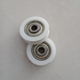 OEM nylon small pulley U or V groove pulley with bearing