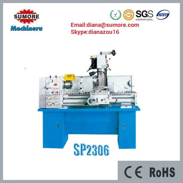 Combinación torno miling SP2306 driling máquina para la venta
