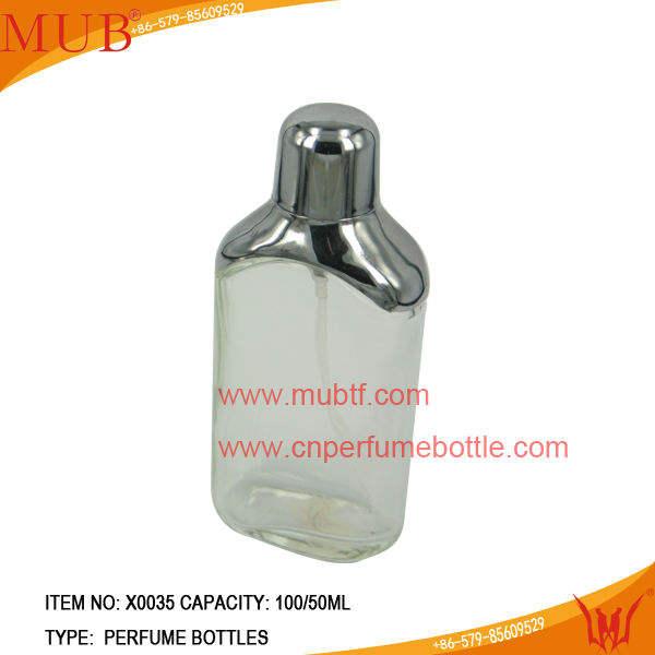 100/50ml кратким дух стеклянные бутылки