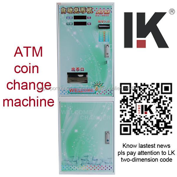 Adequado para todos os tipos bill mecânica / moeda / símbolo mudança automática máquina