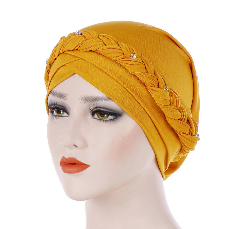 Wholesale High Quality Muslim Europe The United States Milk Silk India Turban Hijab Hat