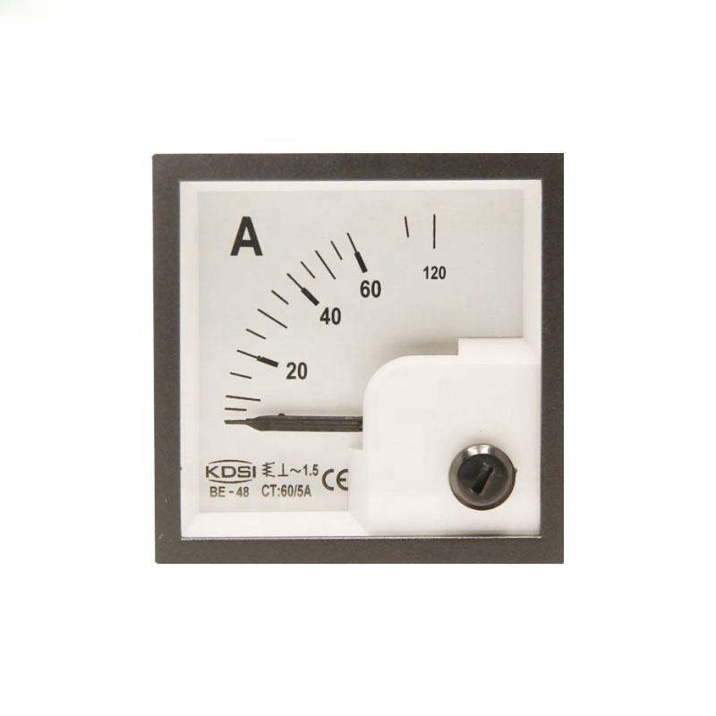 CE genehmigt <span class=keywords><strong>analog</strong></span> WERDEN-48 AC60/5A marine amperemeter