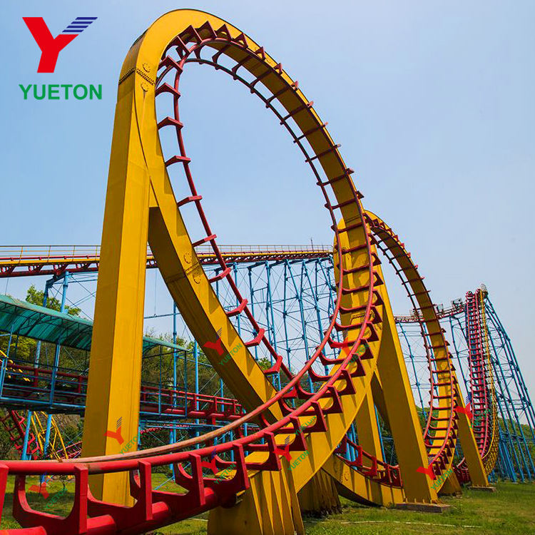 Funny Amusement Park Products Extreme Roller Coaster For Sale