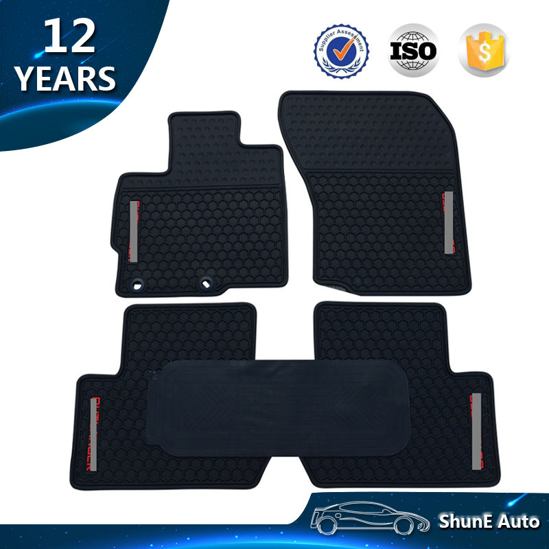 Non-Slip New Arrive Rubber Floor Mat For Outlander 2017 2018 Car Mats Waterproof Special Cars Full set Auto accessories