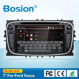 Çift 2 din 7 Inç Araba Stereo Video CD DVD OYNATICI SAT GPS Nav Radyo Ford Mondeo Tourneo Connect Transit s-max