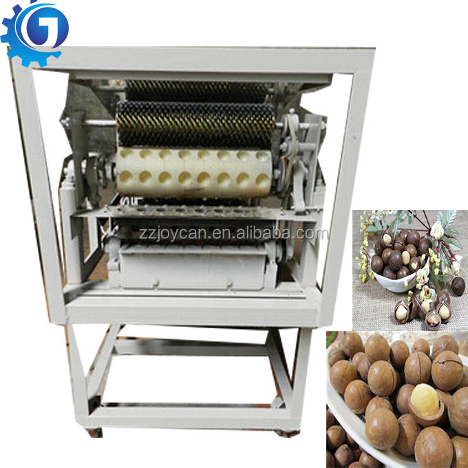 Automatic macadamia nut cracker machine macadamia nut shells broken machine