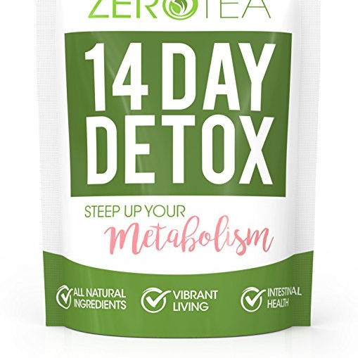 Zero Tea 14 Day Detox Tea Weight Loss Tea Teatox Herbal for Cleanse