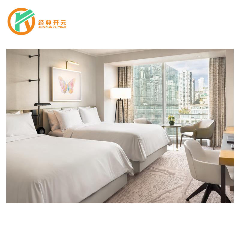 IDM-197 China factory Wholesale Apartment Modern Style Villa Bedroom Sets Hotel Furniture