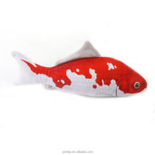 Promotional Big Red Plush Sea Fish