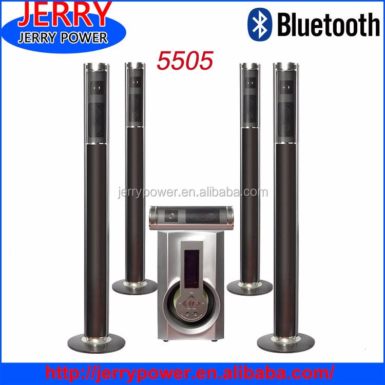 JERRY 5505 5.1 Murah Sistem Home Theater dengan Usb/Sd/Fm/Remote
