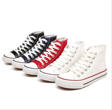 2020china high quality fashion platform cheap unisex white blank high top custom sneakers all star casual canvas shoes men women