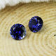 Sapphire Selling 34# 3mm 6mm 8mm Round Royal Blue Synthetic Sapphire Stones Price Per Carat