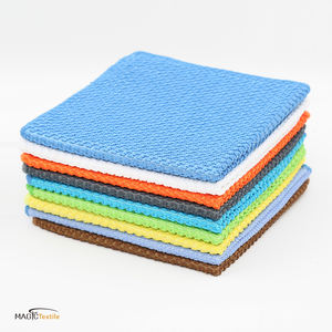 wholesale mini direct cloth recycled magic microfiber polyester polyamide fabric cloth for cleaning