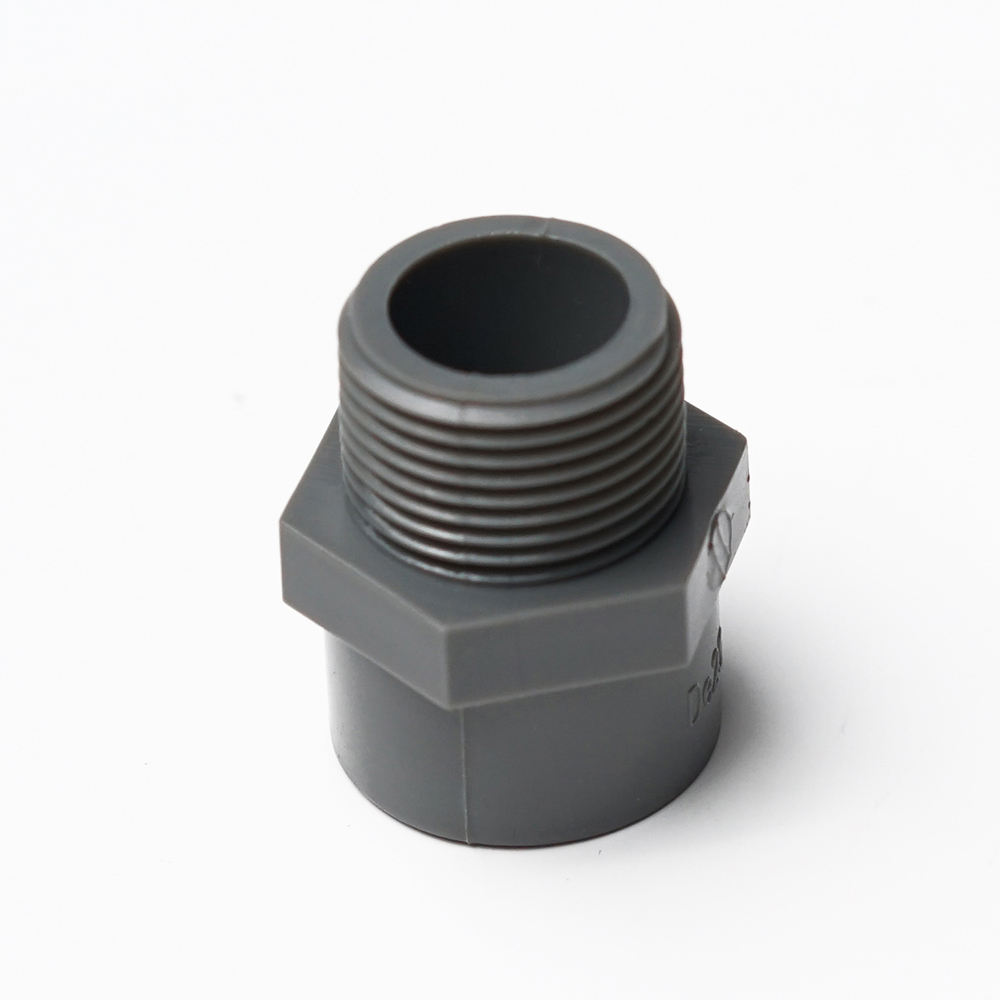 Factory Outlet PVC Fittings Geneste Male Adapter voor Water Supply
