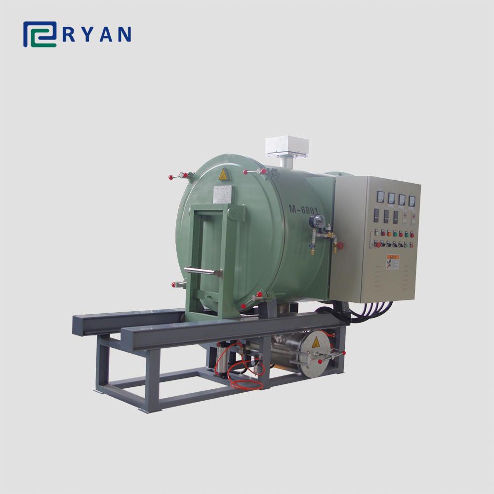 Polymer nhiệt phân lò làm sạch bộ lọc máy cho ngành công nghiệp nhựa