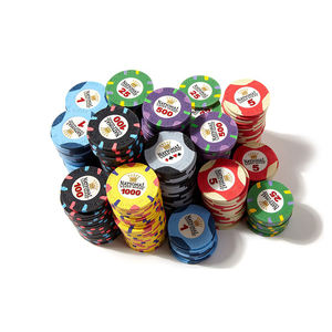 Uso d'azzardo gioco 500 poker chip set