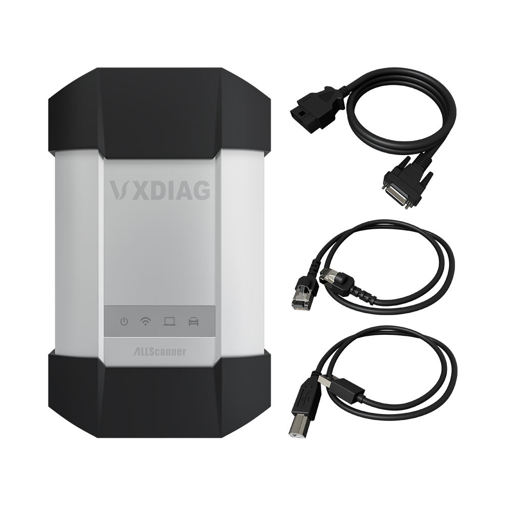 Vxdiag C6 OBD2 Alat Diagnostik MB Bintang C6 Diagnostik Scanner Diagnosis Multiplexer Mengganti C3 C4 C5