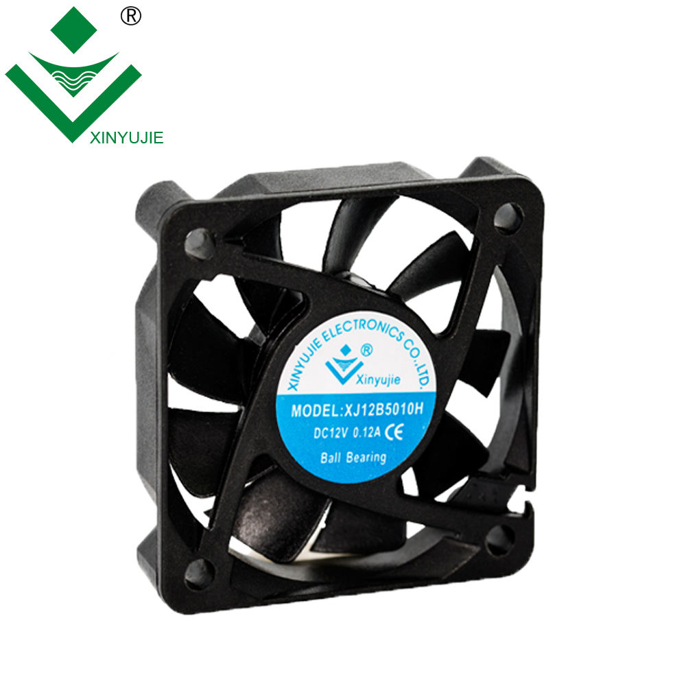 XYJ 5010 hot luchtcirculatie ventilator 50X50X10mm 5 v 12 v 24 v mini fan Dc fan plastic