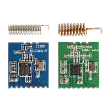 CC1101 Wireless Module and SPI Interface with 868Mhz/433 RF Data Transceiver Module Long Distance Transmission