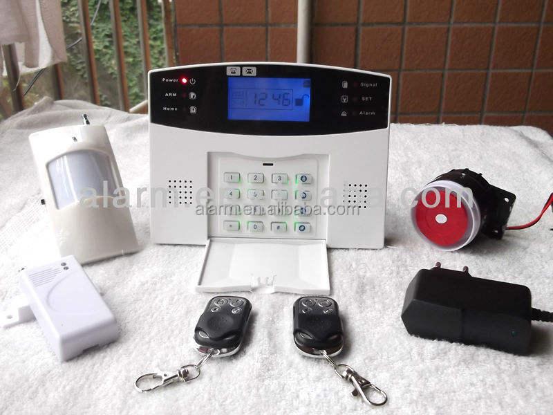 Коммерческий gsm сигнализации дома мониторинга VIP-606C компании, Главная используется охранной сигнализации