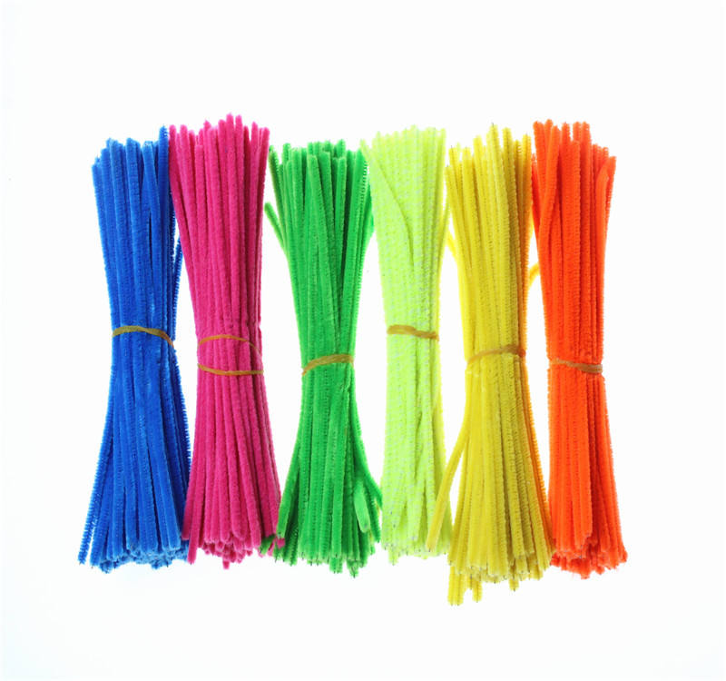 Wholesale Chenille Stem DIY Craft Pipe Cleaners for Children education
