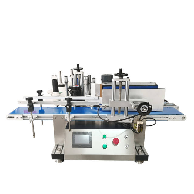 YTK-150 Desktop Automatische Sticker Labeling Machine voor ronde flessen blikjes potten label machine