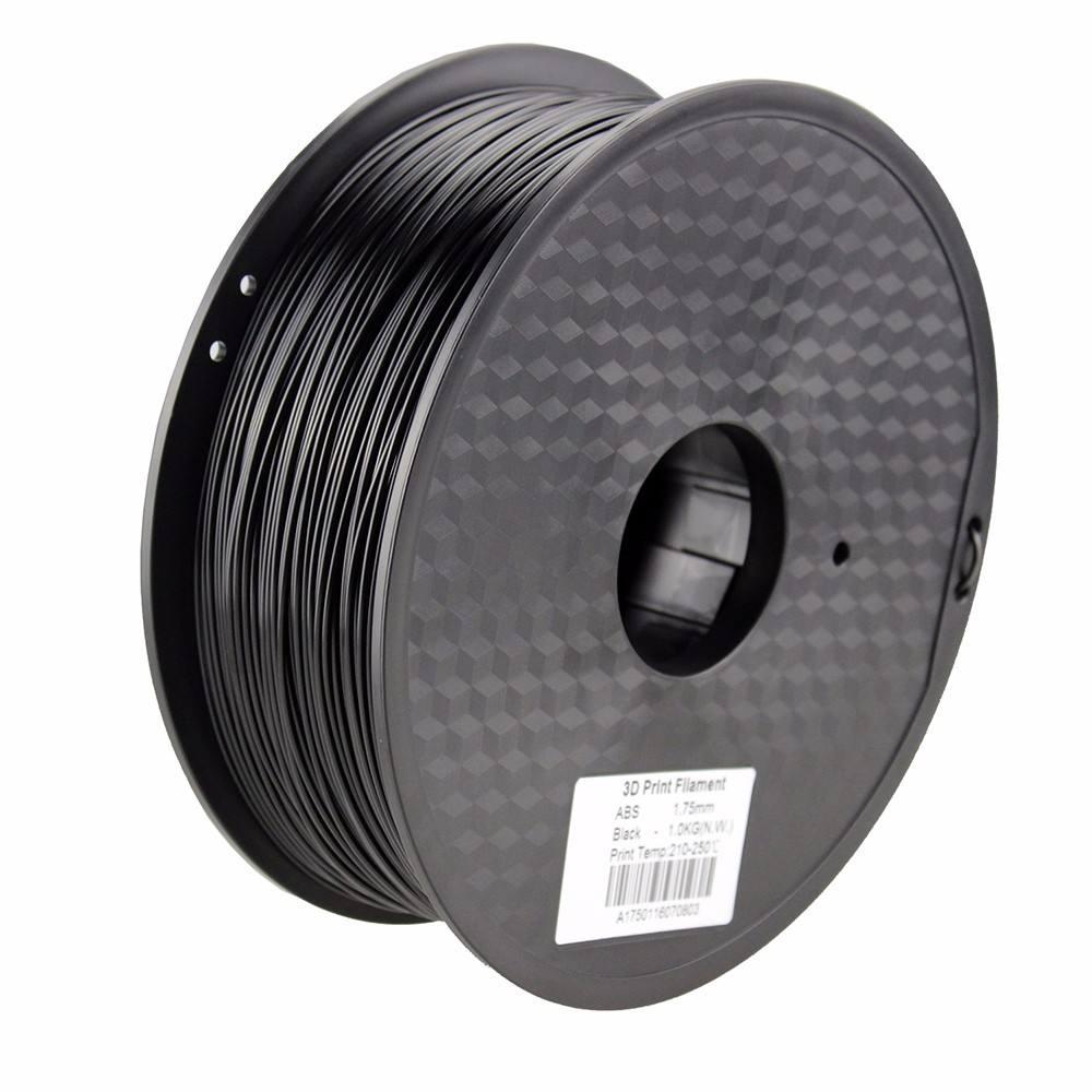PLA Filament 1.75mm 1kg TINMORRY PLA Filament 3D Printing Materials for 3D Printer Black 1 Spool