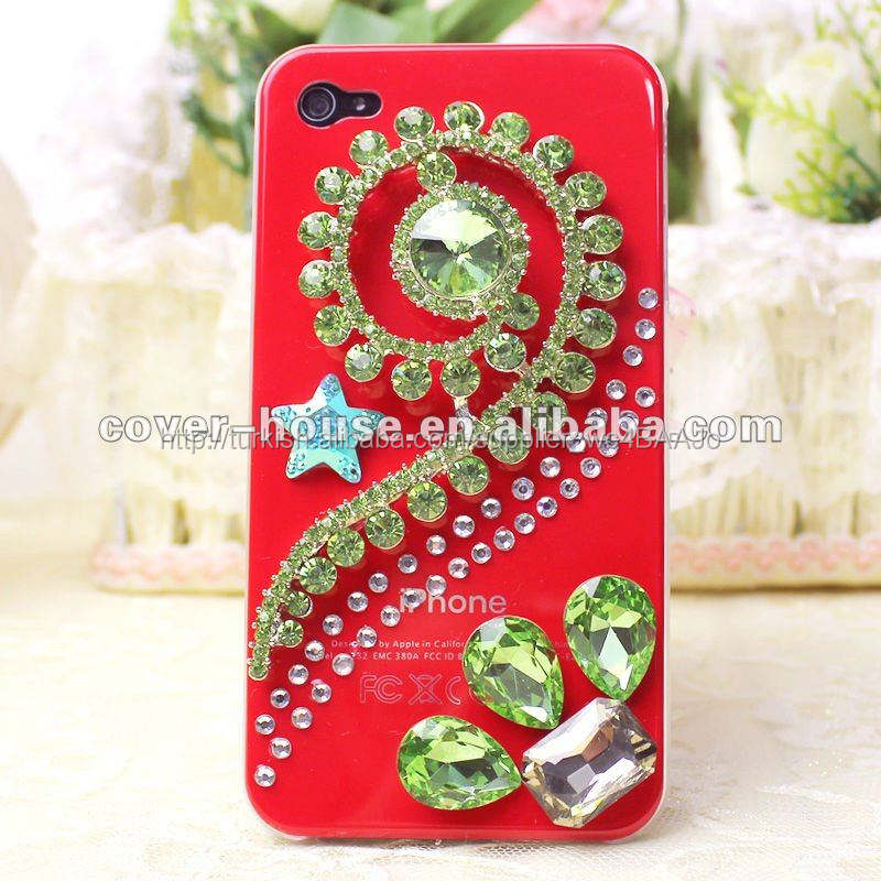 özel tasarım 3d bling case iphone 4 4s