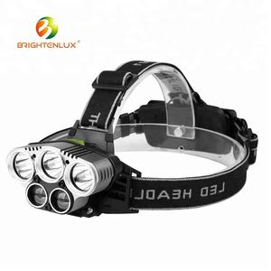 Hot Sale Outdoor Long Range Waterproof Aluminium XM-L T6 Led Usb Rechargeable High Power Headlamp for Coon Hunting Mining