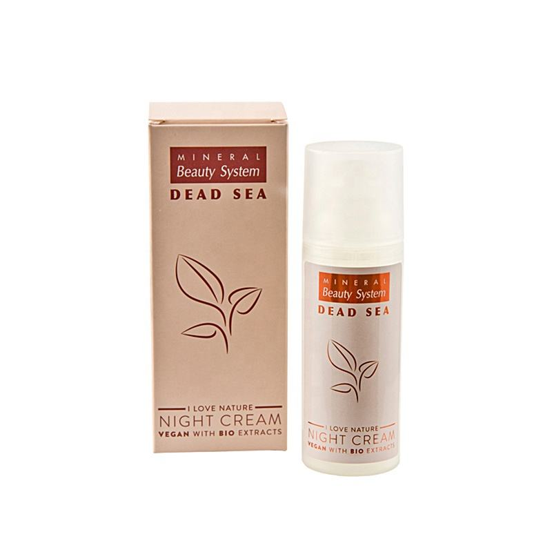Face Care Moisturizing Vegan Dead Sea Night And Day Cream with bio extract