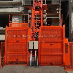 CS 2015 Construction Lift ( HOIST ) CS 200/200 Double Cages , Lift Capacity is 2000 kg per Hoist cage