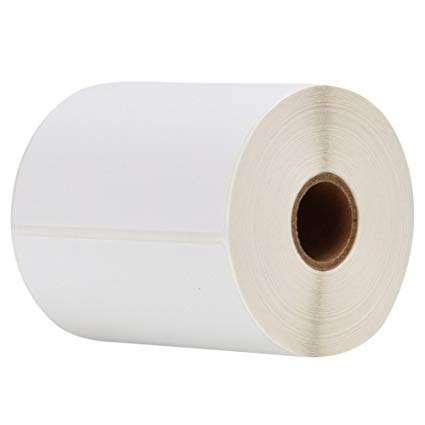 4x6 500 Labels Per Roll Direct Thermal Shipping Labels 150x100 Size For Zebra 2844 ZP-450 ZP-500 ZP-505