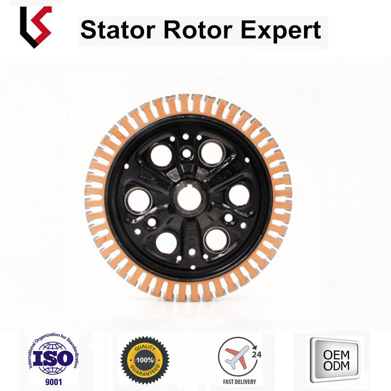 BLDC motor stator rotor Frame stator assy hybrid or electric friven car customization rotor stator lamination core OD 206.8
