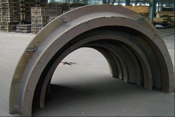 бросание песка турбинный части больших стальных литейных песка