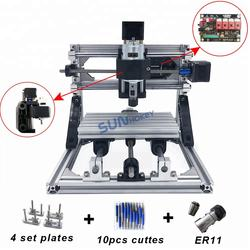 Factory Directly Upgraded DIY CNC1610 Engraving Machine 500MW/2500MW/5500MW/7500MW Laser Heads For Sale