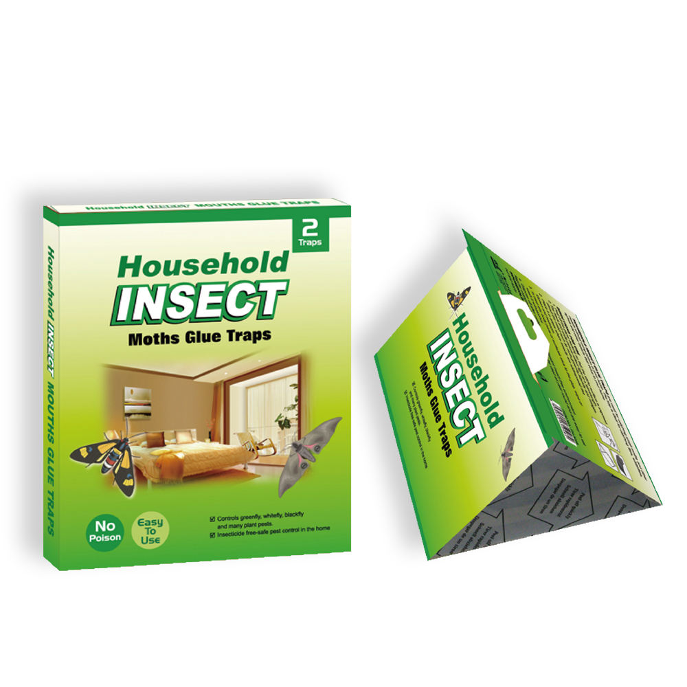 Eco-Friendly disposable insects glue traps fly/fruit fly trap