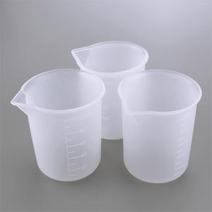 Recyclable Silicone Cup 100ML Silicone Measuring Cup Beaker For Making Silicone Expory Mold