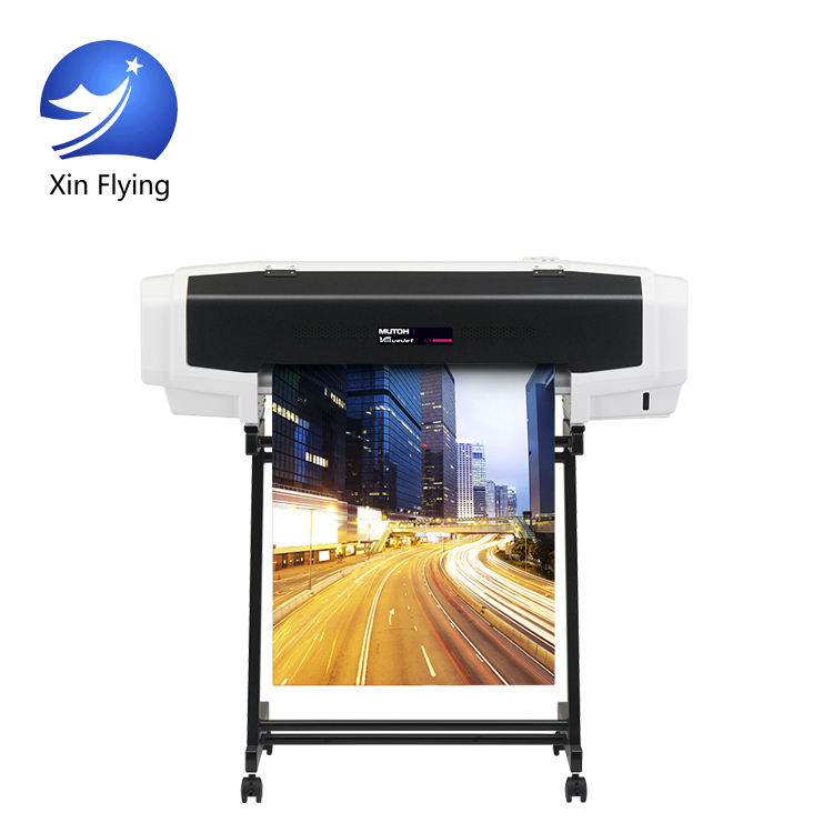 Outdoor 60cm Eco Solvent Printer 60cm Small Size High Resolution Printer Mutoh 628X