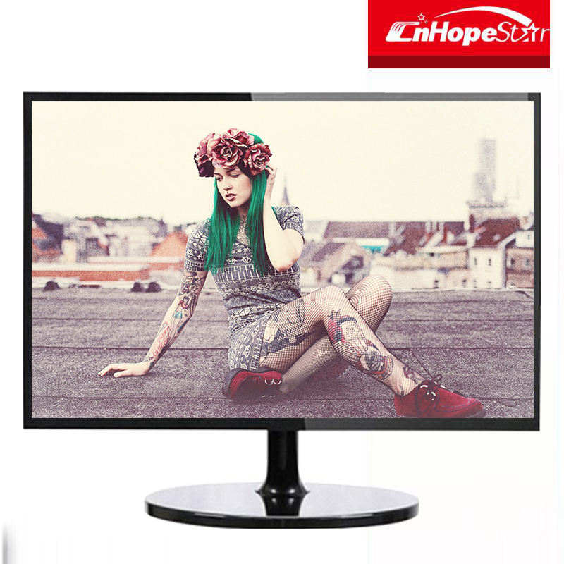 Hot sell HD 19.5 inch LED / LCD monitor for computer display