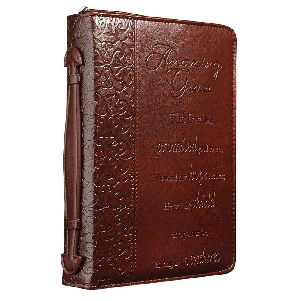 I Know the Plans Two-tone Bible / Book Cover - Jeremiah 29:11 (Large)