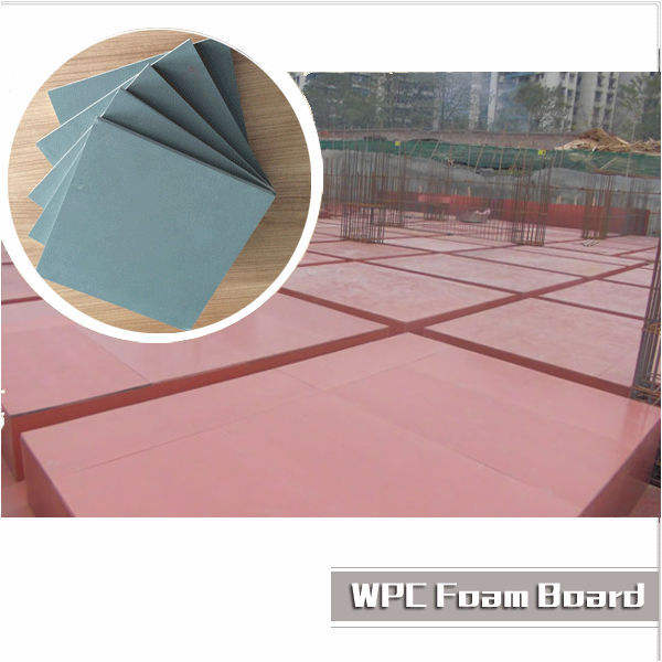 WPC Shuttering board, new material used for construction formwork board