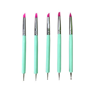 Nail Art Dotting Pen Wooden Sticking Point Drill Crayon Pen Manicure For Rhinestone Picker In Low Price