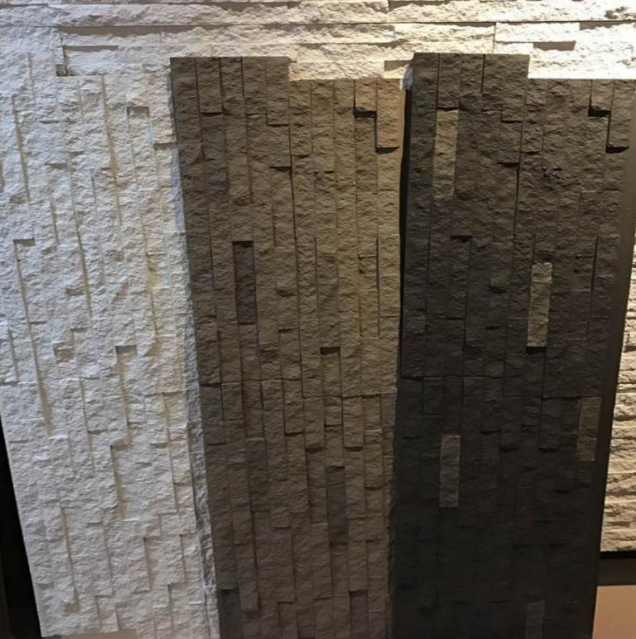 Polyurethane Beauty Cheap Decorative Wall Panel PU fake paving stone