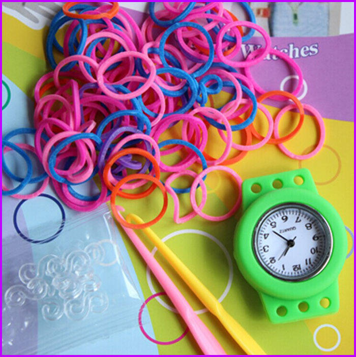 2014 cheap new lastest fashion diy rubber bands loom designs