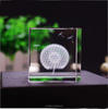 High Quality Blank Crystal Cubes For 3D Laser Engraving With Image Inside