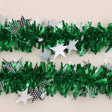 Popular Party PET Tinsel garland Backdrop Decor christmas decoration supplies